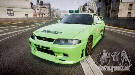Nissan Skyline BCNR33 JUN VER 1995 v2.0 pour GTA 4