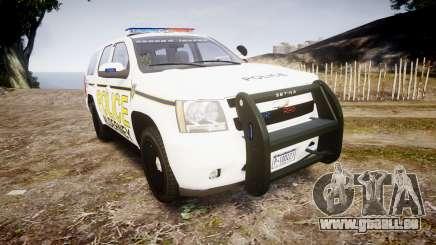Chevrolet Tahoe 2010 Police Alderney [ELS] pour GTA 4