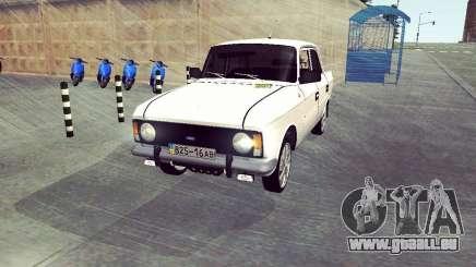 Moskwitsch 412 Weiß Schlucken für GTA San Andreas