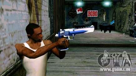 Blue Dragon Deagle pour GTA San Andreas