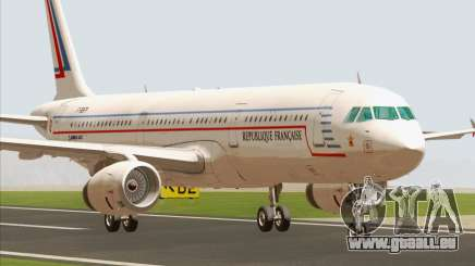 Airbus A321-200 French Government pour GTA San Andreas
