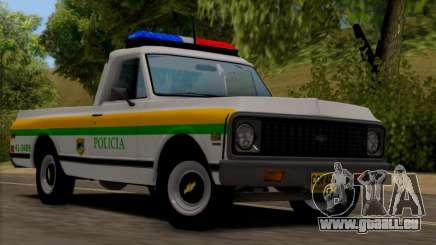 Chevrolet C10 1972 Policia für GTA San Andreas