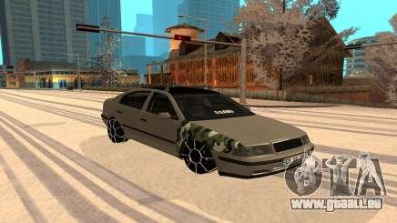 Skoda Octavia Winter Mode pour GTA San Andreas