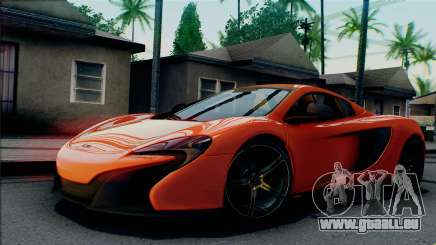 McLaren 650S Spider 2014 pour GTA San Andreas