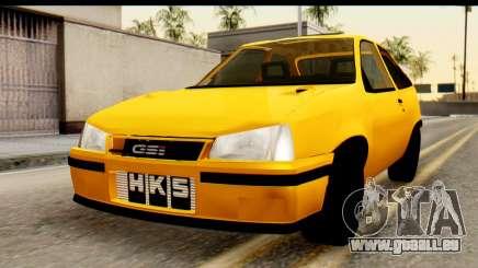Opel Kadett GSI Drag 2015 für GTA San Andreas