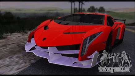 Lamborghini Veneno White-Black 2015 (HQLM) pour GTA San Andreas