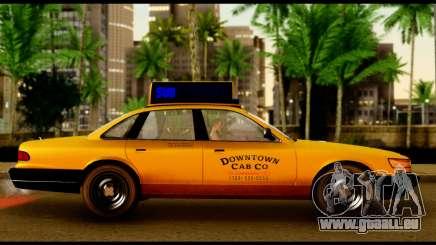 GTA 4 Vapid Stanier Downtown Cab pour GTA San Andreas