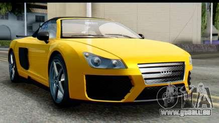 GTA 5 Obey 9F Cabrio IVF für GTA San Andreas