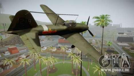 ИЛ-10 Chinese Air Force für GTA San Andreas linke Ansicht