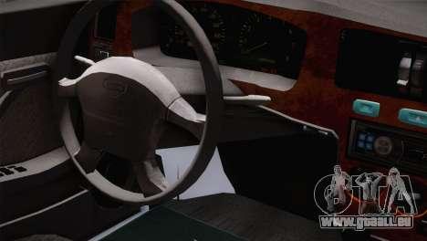 Nissan Cedric pour GTA San Andreas vue de droite