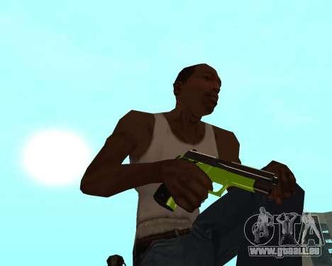 Sharks Weapon Pack pour GTA San Andreas septième écran