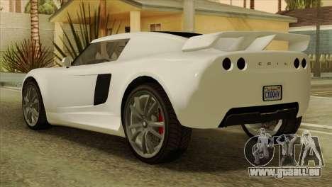 GTA 5 Coil Voltic v2 IVF für GTA San Andreas linke Ansicht