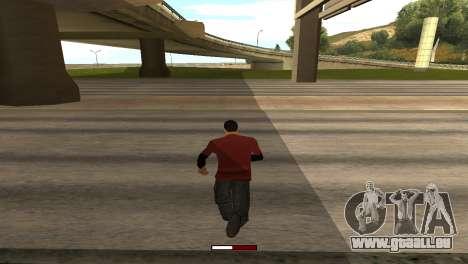 SprintBar für GTA San Andreas zweiten Screenshot