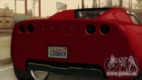GTA 5 Coil Voltic v2 pour GTA San Andreas vue arrière