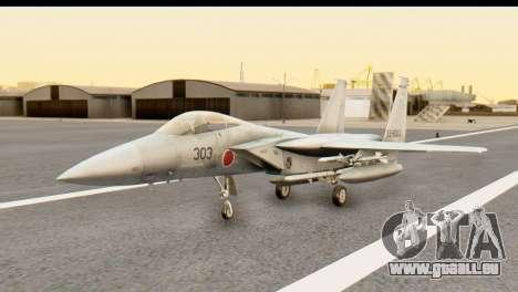 F-15DJ Mitsubishi Heavy Industries pour GTA San Andreas