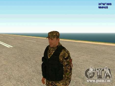 Pfeile Miliz DND für GTA San Andreas dritten Screenshot