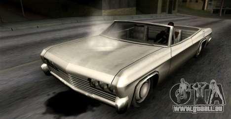 Fuites d'huile pour GTA San Andreas