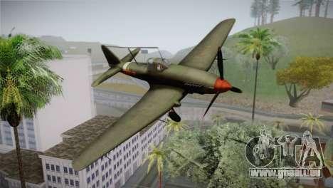 ИЛ-10 Chinese Air Force für GTA San Andreas