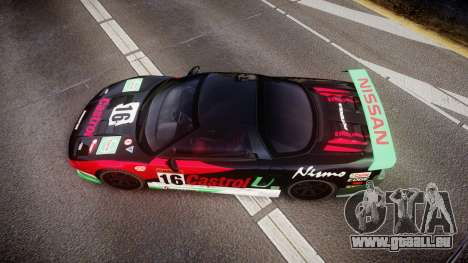 Honda NSX 1998 [EPM] castrol pour GTA 4 est un droit