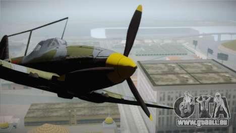 ИЛ-10 Royal Air Force für GTA San Andreas rechten Ansicht
