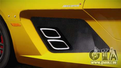 Mercedes-Benz SLR McLaren Stirling Moss pour GTA San Andreas vue de droite