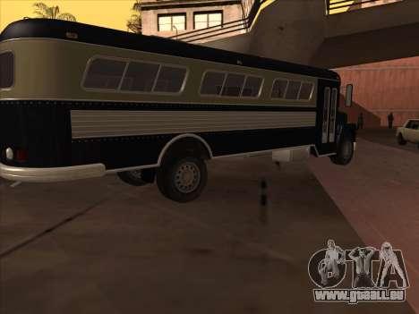 Bus из de GTA 3 pour GTA San Andreas sur la vue arrière gauche