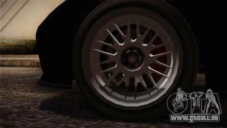 GTA 5 Invetero Coquette v2 IVF für GTA San Andreas zurück linke Ansicht