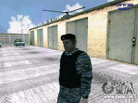 Les OMON de chasse pour GTA San Andreas troisième écran