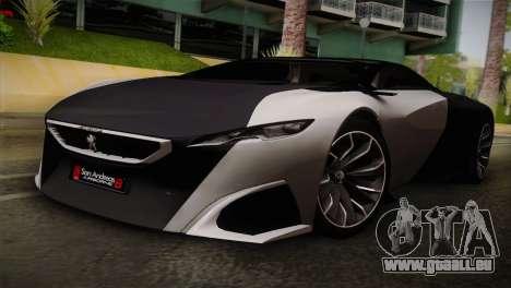 Peugeot Onyx für GTA San Andreas