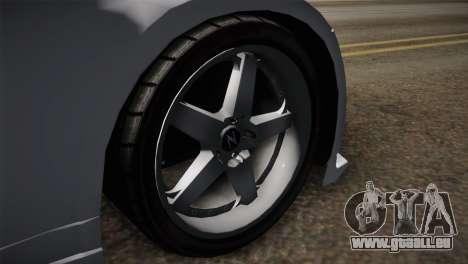 Nissan 350Z Nismo für GTA San Andreas zurück linke Ansicht