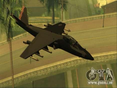 McDonnell Douglas AV-8B Harrier II Beta für GTA San Andreas