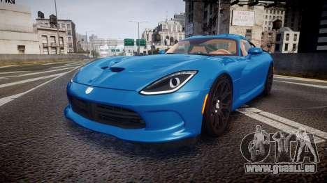 Dodge Viper SRT 2013 rims2 pour GTA 4