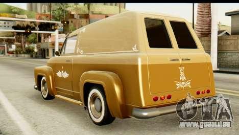 EFLC TLaD Vapid Slamvan pour GTA San Andreas laissé vue