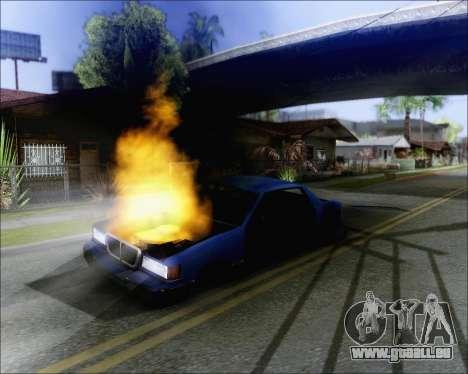 Reiten auf geblasen Autos für GTA San Andreas