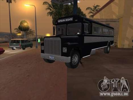 Bus из GTA 3 für GTA San Andreas rechten Ansicht