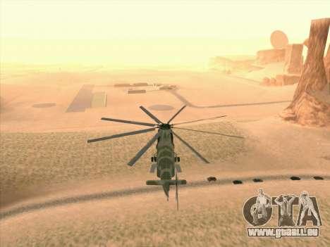 Mi 26 pour GTA San Andreas vue de côté