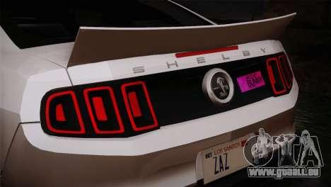 Ford Shelby GT500 RocketBunny SVT Wheels pour GTA San Andreas vue de droite
