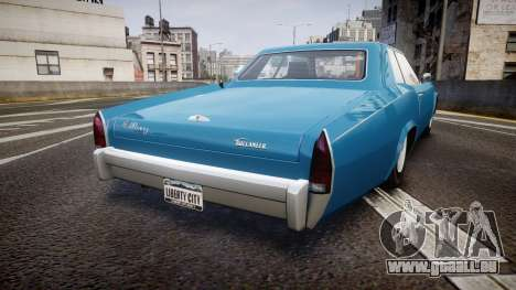 Albany Buccaneer San Andreas Style für GTA 4 hinten links Ansicht