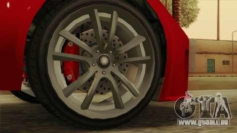 GTA 5 Coil Voltic v2 pour GTA San Andreas sur la vue arrière gauche