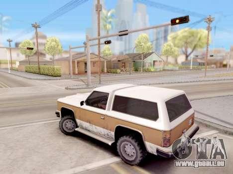 Le contrôle réel de GTA 4 pour GTA San Andreas