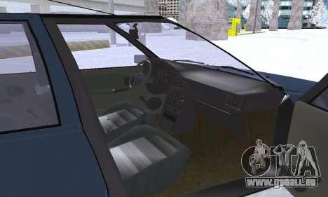 Dacia Super Nova pour GTA San Andreas roue