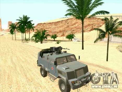 Blindés De L'Ours pour GTA San Andreas laissé vue