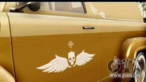 EFLC TLaD Vapid Slamvan pour GTA San Andreas vue de droite