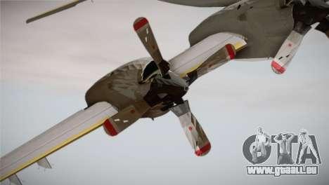 German Navy P-3C Orion MFG 3 50th Anniversary pour GTA San Andreas vue de droite