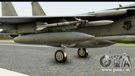 F-15J Mitsubishi Heavy Industries für GTA San Andreas rechten Ansicht