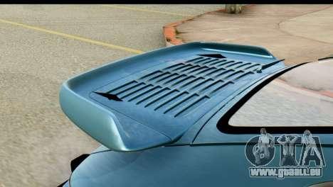 Porsche 911 Turbo 3.3L 1981 Tunable pour GTA San Andreas vue de droite