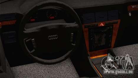 Audi A8 2000 pour GTA San Andreas vue de droite
