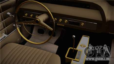 Chevrolet Impala pour GTA San Andreas vue de droite