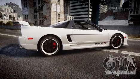 Honda NSX 1998 [EPM] nsx-r pour GTA 4 est une gauche