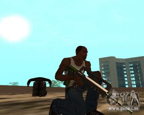 Sharks Weapon Pack pour GTA San Andreas neuvième écran